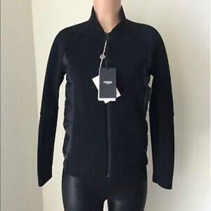 Fendi sports jacket size 42 color black